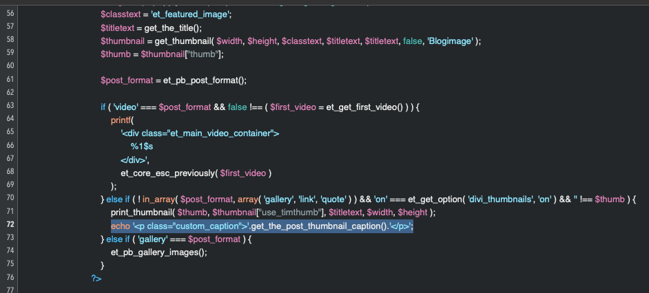 L'gg en kod i single.php