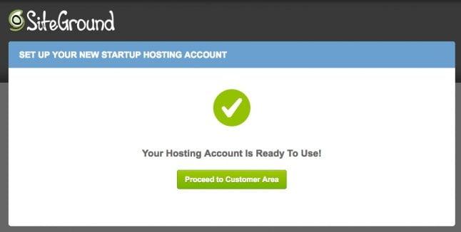 Install WordPress, step 3
